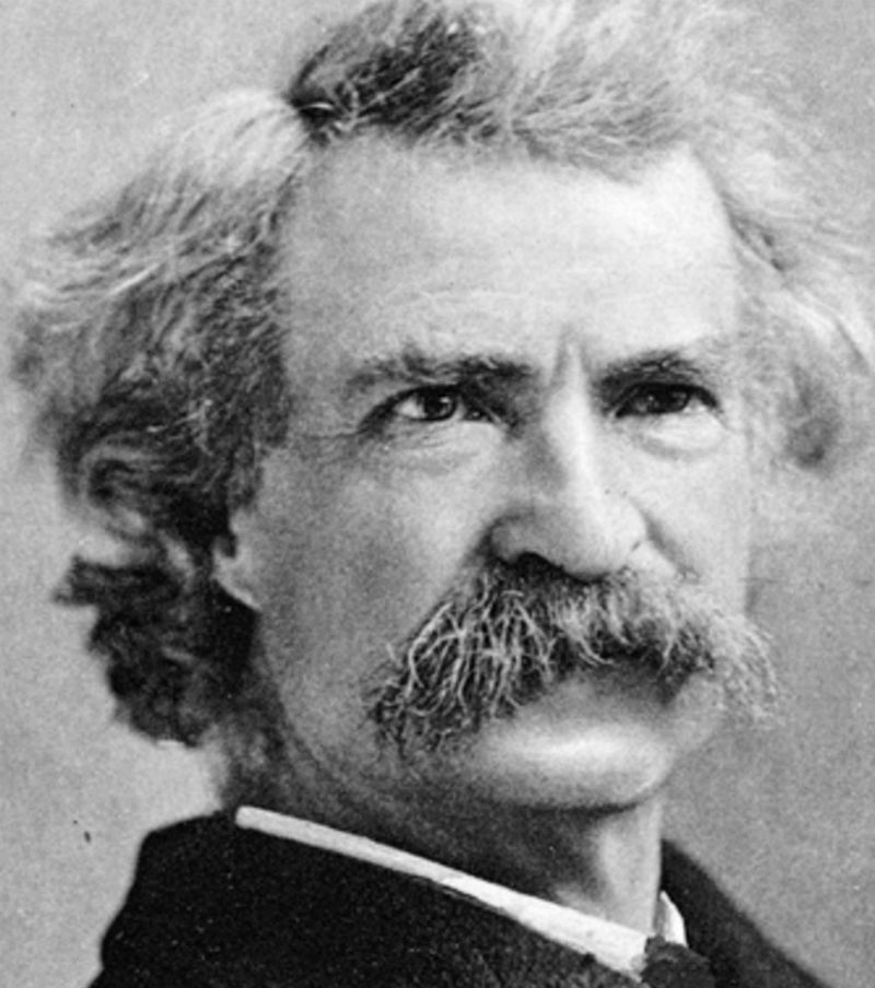 thesis on mark twain From _the celebrated jumping frog of calaveras county and other sketches_ (1867) by mark twain edited by: angel price 11/96 the celebrated jumping frog of.